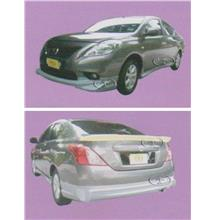 Nissan Almera IMPUL Style Full Set Body Kit [Fiber/PU Material]