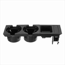 Car Front Center Console Drink Cup Holder + Coin Holder Tray for BMW 3Series E