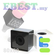 ABS Microphone Flag Interview Logo Cube Station-L Cube