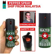 (*With Free Gift ) Nato Pepper Spray Safety for Self Defense (40ml)