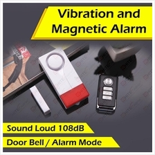 Vibration & Magnetic Alarm+Doorbell for Door and Window