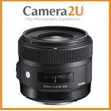 NEW Sigma 30mm F1.4 DC HSM Art Lens For Nikon Mount (New Version)