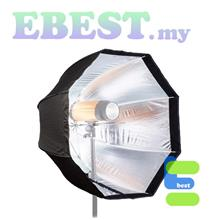 Umbrella Octagonal Softbox Spherical Reflector 120cm