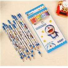 12pcs Cartoon Student Kids Children Drawing Color Pencil