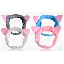 Running Man Cat Ears Headband Hair Band