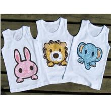 Baby Cute Animal Singlet Clothing