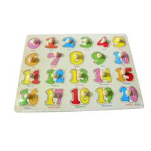 Educational Learning Wood Puzzle- Numbers
