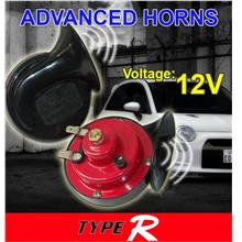 TYPE-R 12V 510Hz 100dB Super Loud Twin BM Horn