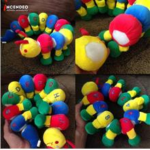 **incendeo** - Fortune ABC 123 Detachable Caterpillar Soft Toy