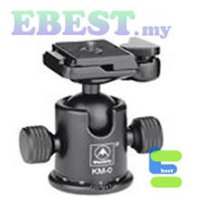 Manbily Midi KM-0 Tripod Ball Head with Quick Release System Ballhead