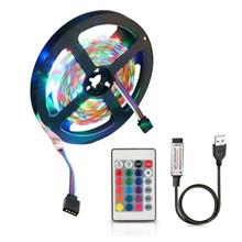3 Meters ZDM USB 5V Flexible Discoloration RGB 2835 LED String Lamp wi..
