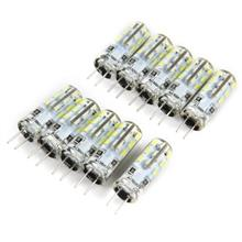 10pcs G4 Base 24 LED Lamp Bulb 3W AC 220V White Light SMD 3014 360 Deg..