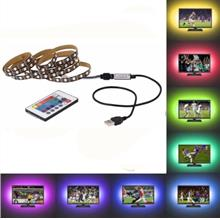 NO WATERPROOF 2M OMTO USB LED Strip 5050 RGB TV Backlight Flexible Lig..