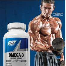GAT Omega-3 Lemon 90 Softgels boost health (USA PRE-ORDER ETA 7 DAYS)