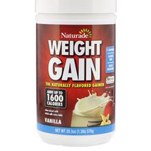 Naturade Weight Gain Vanilla 576g Mass gainer USA PRE-ORDER ETA 7 DAYS