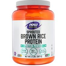 Now Foods Sports Sprouted Brown Rice Protein 907g USA PRE-ORDER 7DAYS