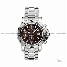 MONTBLANC MP36947 Men's Sport Chronograph Automatic SS Bracelet Brown