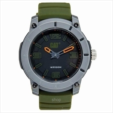 Caterpillar Green Silicone Strap Men's Watch - LG-140-23-124)