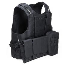 Amphibious Tactical Military Molle Waistcoat Combat Assault Plate Carr..