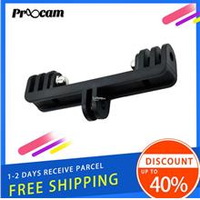 Proocam PRO-F061 Dual Twin Led Gopro Bracket Connector Adapter Gopro