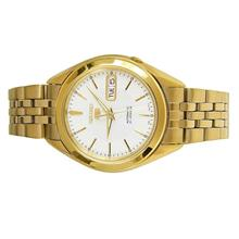 SEIKO 5 Men Automatic Gold Stainless Steel Day Date Watch SNKL26K1