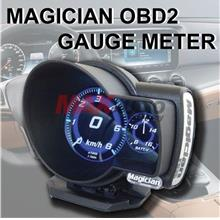 Magician Multi Function Plug and Play OBD2 Digital Gauge Meter [F835]
