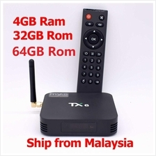 TX6 H6 4G+32G 64G 6K Android Smart TV Box 5G 4K