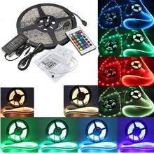 DC12V 5M 5050 RGB Waterproof 300 LED Strip Light Kit + 24 Key IR Contr..