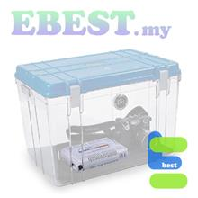 Wonderful DB-3828 Air Tight Dry Box Dry Cabinet + Rechargeable Silica