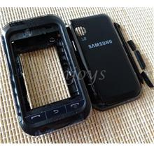 Enjoys: ORIGINAL HOUSING CASING Samsung C3303 C3300K Champ ~BLACK