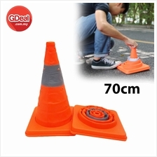 Portable Telescopic Foldable Road Cone Traffic Warning Sign Traffic