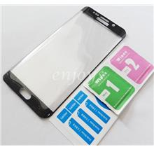 3D FULL Tempered Glass Samsung Galaxy S6 Edge+ Plus /G928F ~BLACK