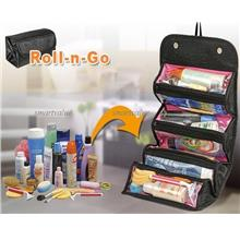 Roll n Go Cosmetic Bag for Make-Up Toiletry Travel Bag Latest Stocks