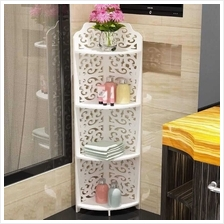Toilet Washroom flower rack storage Cabinet - PVC type