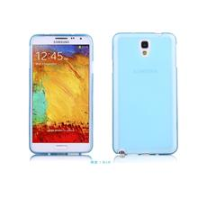 Samsung Note3 Neo Note 3 Neo Silicone Soft Back Case Cover Casing-Blue