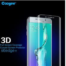 Cooyee Galaxy S6 Edge Plus 3D Curved Full Screen Covered Protector SP