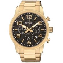 CITIZEN Chronograph Quartz Gold Tone AN8053-52E AN8053-52 Men's Watch