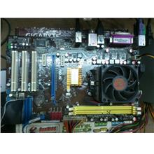 Asus M4N78SE AMD Socket AM2 Mainboard 040613