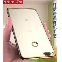Nisheng Xiaomi Mi 5X Mi5X Transparent Soft TPU Back Case Cover Casing