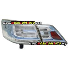Toyota Camry Hybrid ACV40 2009 Tail Lamp Set Depo