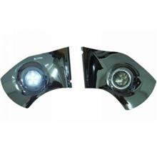 Toyota Landcruiser FJ200 `08 Door Mirror Under Light Chrome LED [TY58-