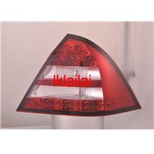 SONAR Mercedes Benz W203 '00-04 Tail Lamp Double LED RED-CLEAR 1-pair