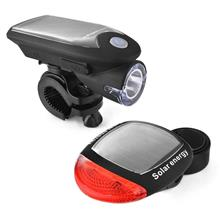 Solar Energy Rechargeable Bicycle LED Light