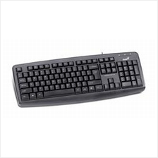 GENIUS WIRED USB KEYBOARD (KB-110X) BLK