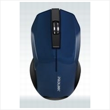 PROLINK WIRELESS OPTICAL MOUSE (PMW6001) BLK/BLUE/GREY/RED/WHT