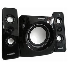 SALPIDO 2.1 TRON 101 WITH USB/SD CARD SPEAKER (BLACK)