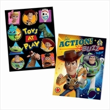 TOY STORY 4 EXERCISE BOOK SET (2 IN 1)