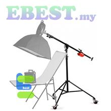 Studio Photograhy Ligth Stand Lighting Stand Wheeled Super Boom Stand