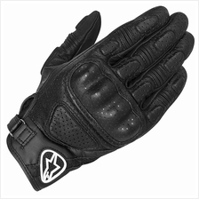 ALPINESTARS MUSTANG LEATHER GLOVE (BLACK)