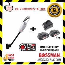 Bossman BVC-20M Cordless Vacuum Cleaner + 1Charger + 2pc Battery 4.0Ah